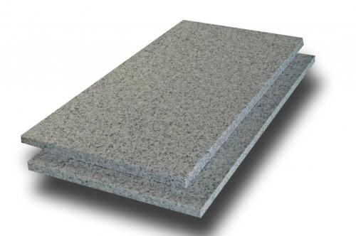 Granit weiß-grau, Formatplatten