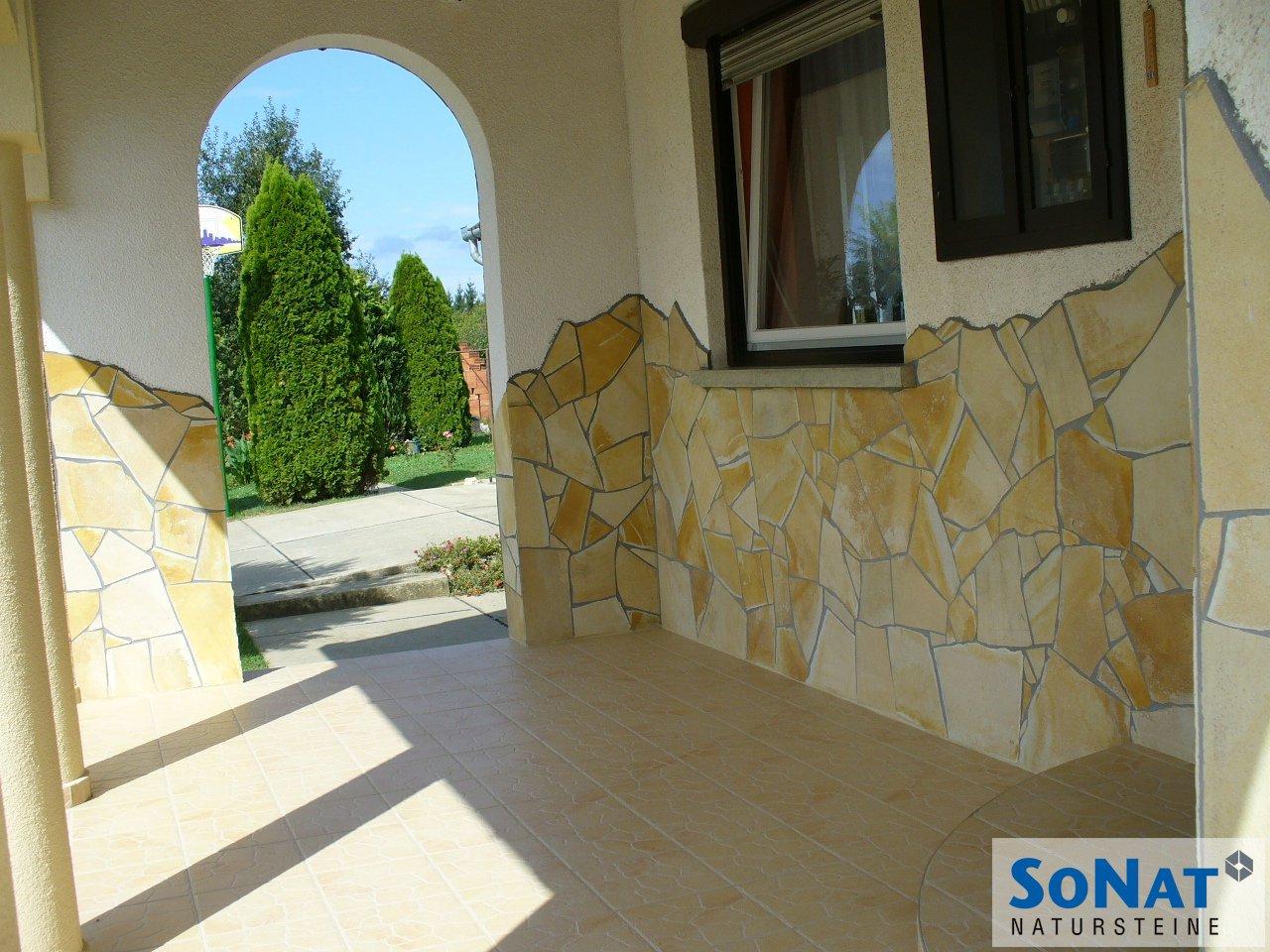 Solnhofener Naturstein Polygonalplatten - SoNat Natursteine