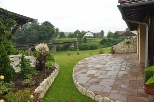 Römischer Verband Terrasse aus Modak Sandstein