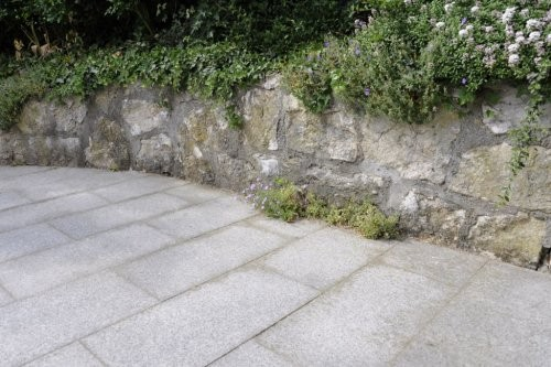 Granit weiß-grau, Garten