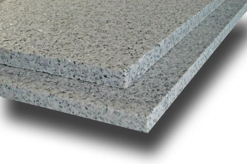 Granit weiß-grau SONAT 263 weiß-grau, geflammt