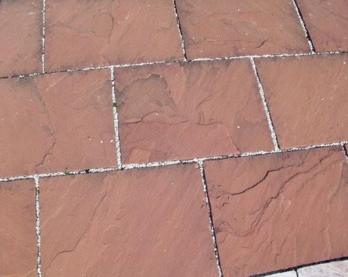 roter Sandstein Terrassenplatten