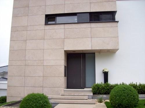 Jura Kalkstein gelb, feingeschliffen, Fassade