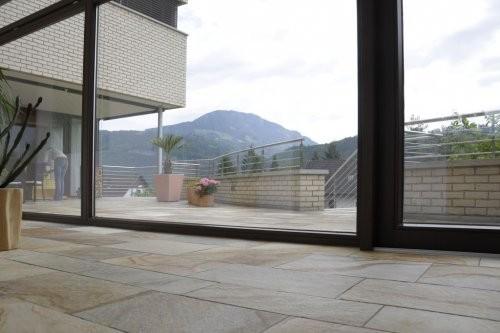 Balkon, Quarzit Santana