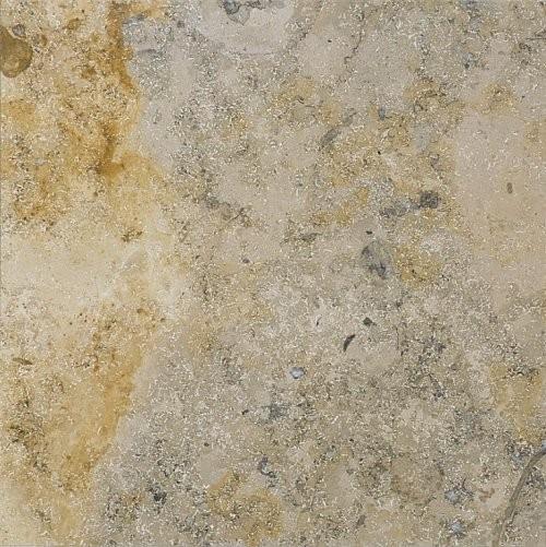 Jura Kalkstein  grau-gelb-bunt, poliert