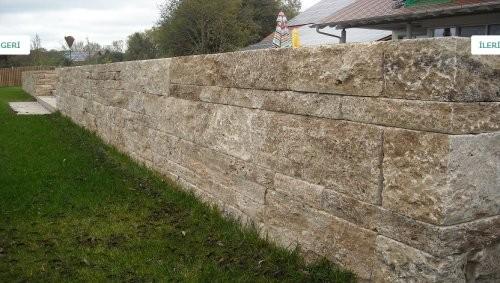 Gartenmauer noce Travertin
