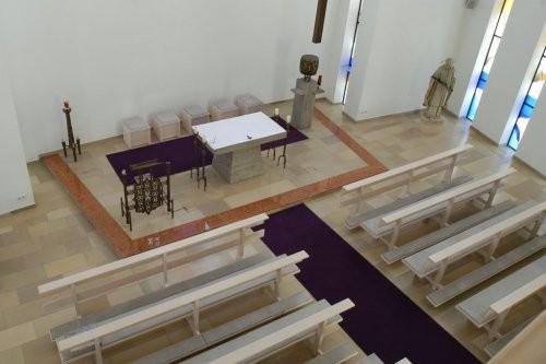 Solnhofener, feingeschliffen, Bahnen, Kirche