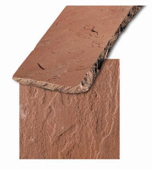 Sandstein rot, Format