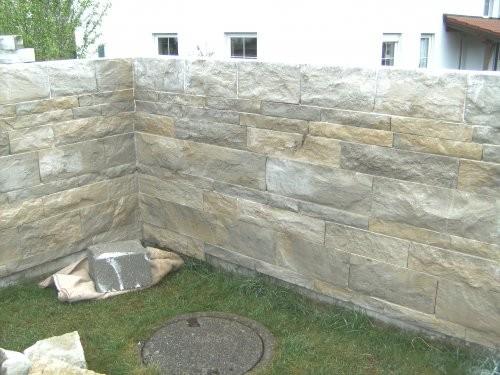 SONAT S313, Jura Mauersteine, beige-grau-gemischtfarbig, gesägt und gespalten, Garten