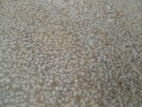 Jura Kalkstein, gelb, gestockt, Formatplatte, Oberfläche