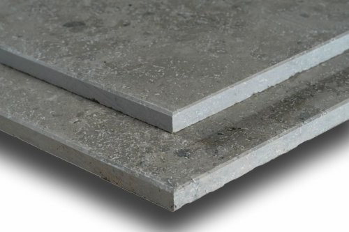 Jura Kalkstein, grau-blau, poliert, Format