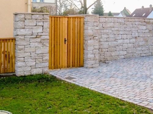Jura Mauersteine SONAT T213 beige, gesägt + gespalten + getrommelt