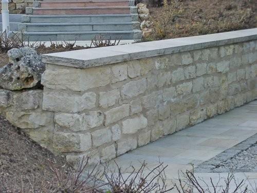 SONAT 212, Jura Mauersteine, beige, gespalten, Mauer