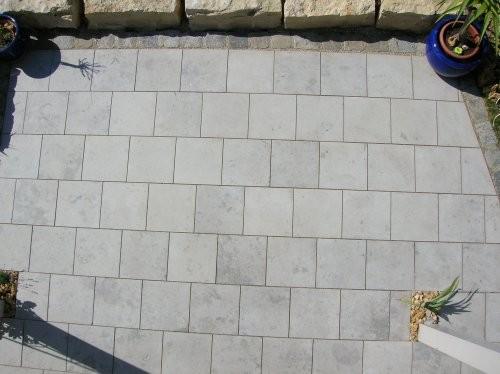Jura Kalkstein  grau-blau, sandgestrahlt und gebürstet