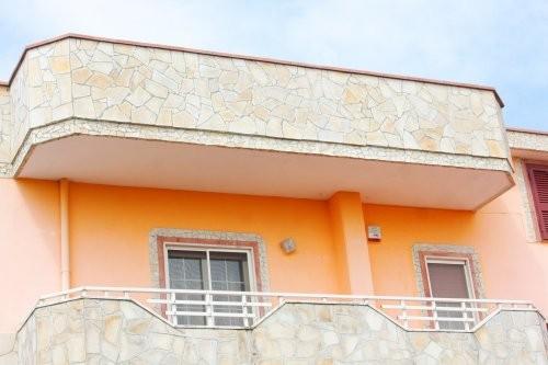 Solnhofener Naturstein, Polygonalplatten, Balkon