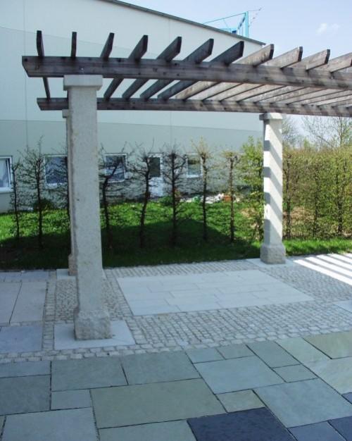 Jura Kalkstein, Massivarbeiten, Säulen