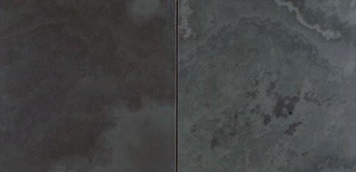 Nahaufnahme der feingeschliffenen Oberfläche im Quadratformat, 10 mm Stärke