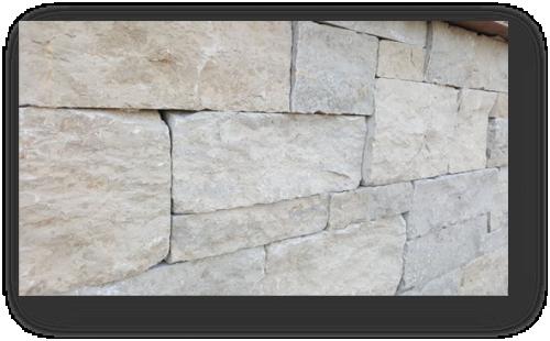 Jura Mauersteine SONAT T313 beige-grau-gemischtfarbig, gesägt + gespalten + getrommelt