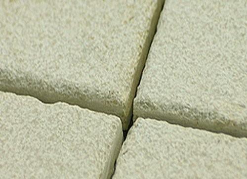 Jura Kalkstein, gelb, sandgestrahlt, Format