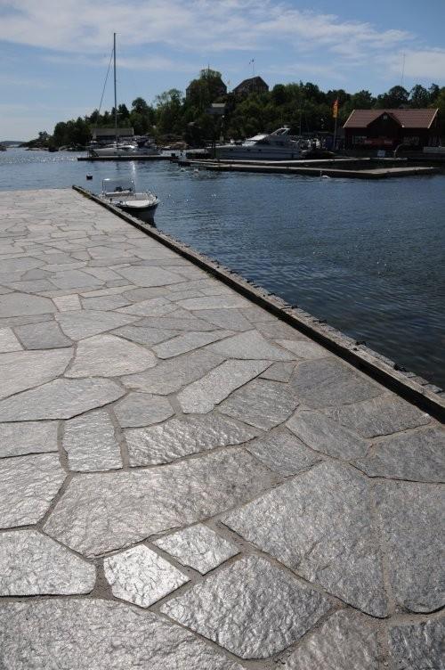 Polygonalplatten Otta Phyllit spaltrau