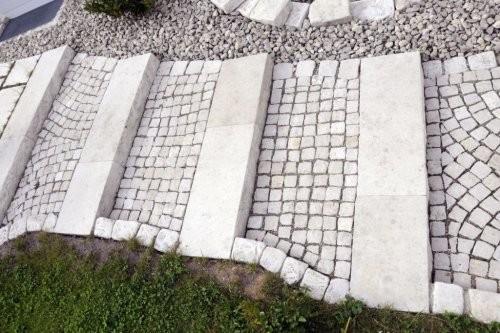SONAT 216, Jura Pflastersteine, Treppe