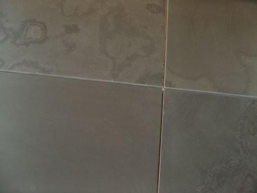 Nahaufnahme der geschliffenen Oberfläche des Formats in 10 mm Stärke