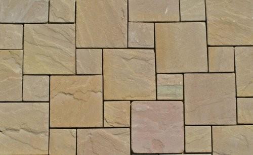 Modak Sandstein SONAT 517 rot-braun, spaltrau