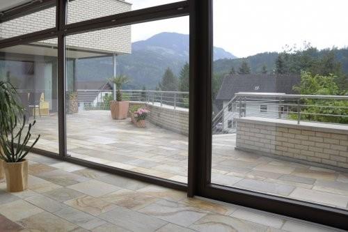 Außenbereich Balkon Quarzit Santana