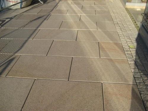 SONAT 265, Granit gelb, Außenbereich, Boden